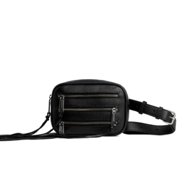 Rebecca Minkoff Handbags - Authentic Rebecca Minkoff 3 zip belt body bag